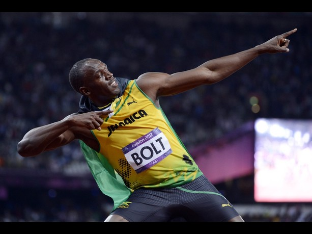 Usain Bolt Repeats as 100 Meter Gold Medalist at the ...