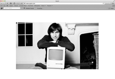 Remembering Steve Jobs, one year after his death.