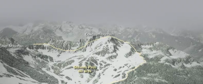 An interactive overview of the Cascades.