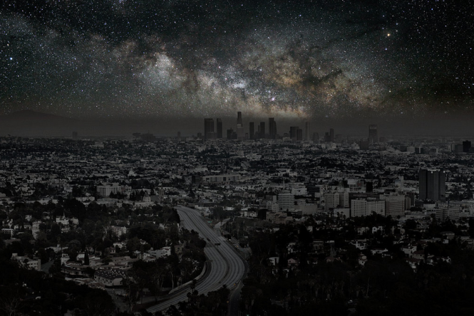 Los Angeles without the light pollution.