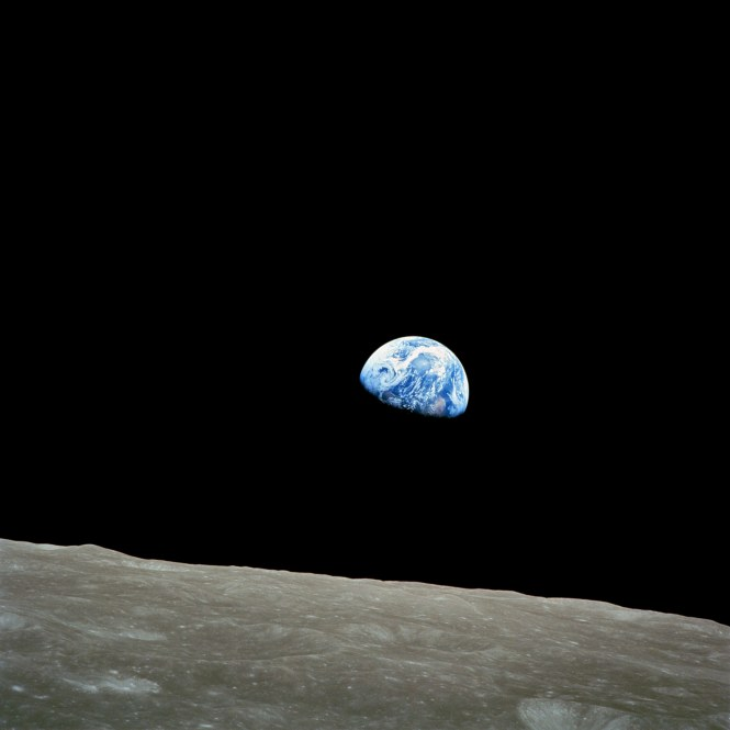 The famous image now known simply as Earthrise.